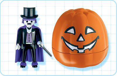 Playmobil 4772 - Halloween Set 'Vampire' - Back