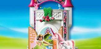 Playmobil - 4777 - Unicorn Take Along Castle