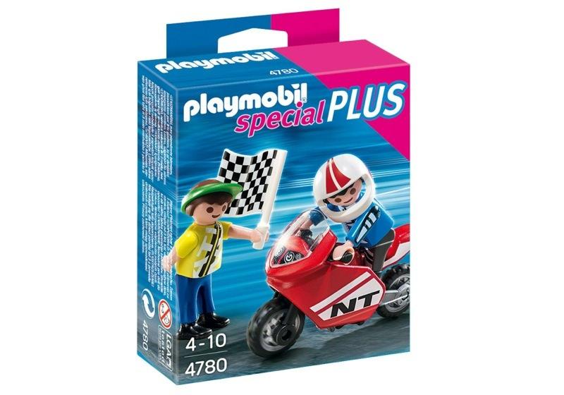 Playmobil 4780 - Children with Racingbike - Box