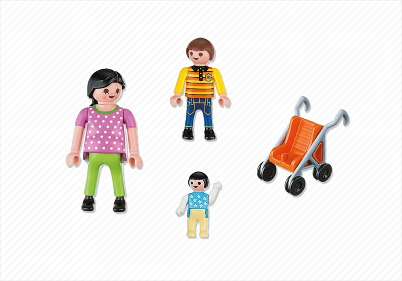 Playmobil 4782 - Mother with Children - Back