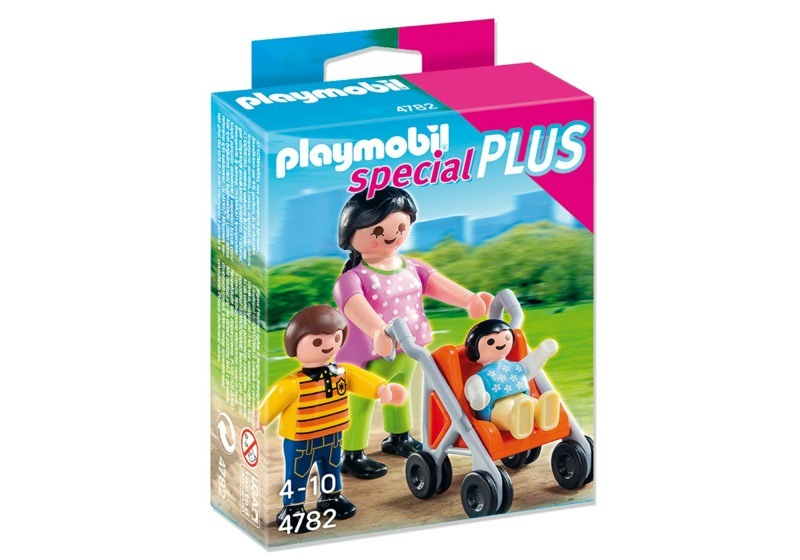 Playmobil 4782 - Mother with Children - Box
