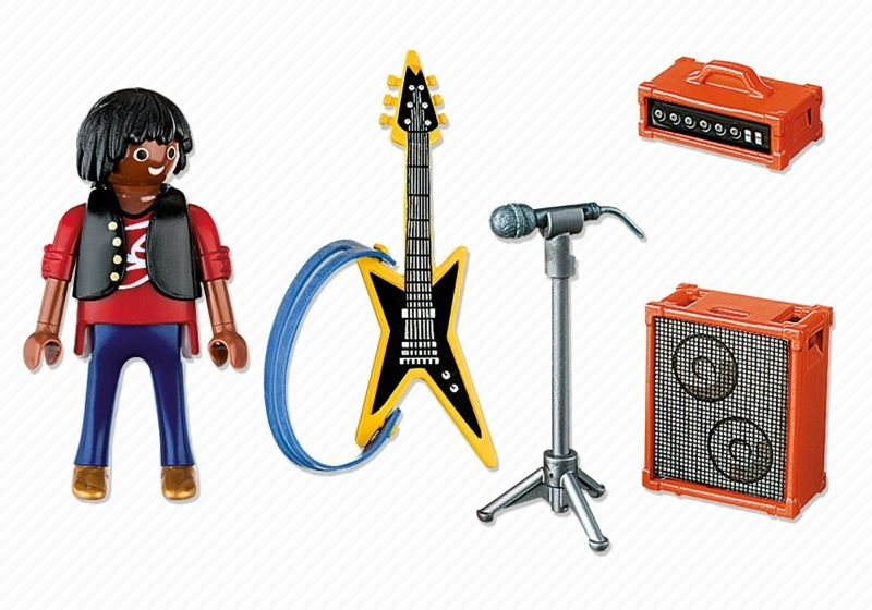 Playmobil 4784 - Rockstar - Back