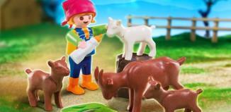 Playmobil - 4785 - Mädchen bei Ziegen