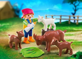 Playmobil - 4785 - Girl with goats