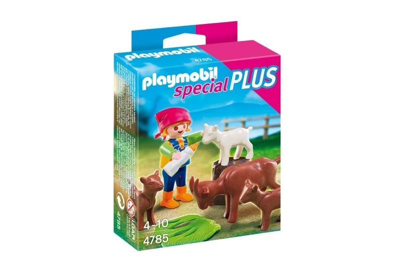 Playmobil 4785 - Girl with goats - Box