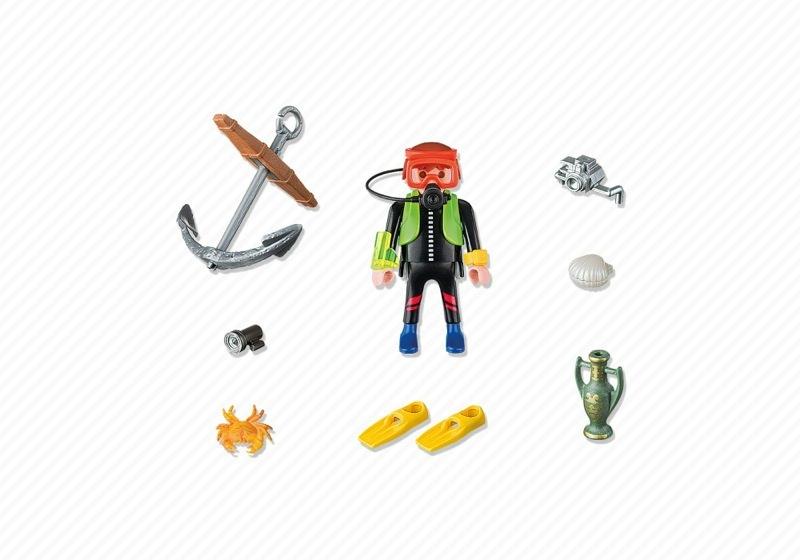 Playmobil 4786 -  Treasure Hunter - Back