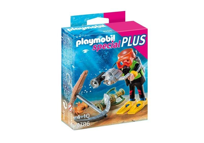 Playmobil 4786 -  Treasure Hunter - Box