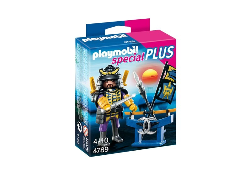 Playmobil 4789 - Samurai with Weapon Stand - Box
