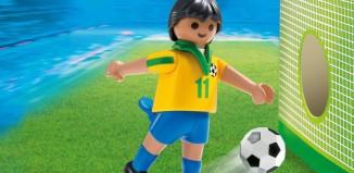 Playmobil - 4799 - Fußballspieler Brasilien
