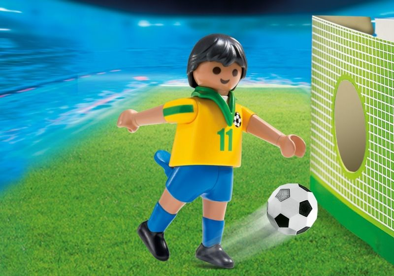 Playmobil Set 4799 Fussballspieler Brasilien Klickypedia