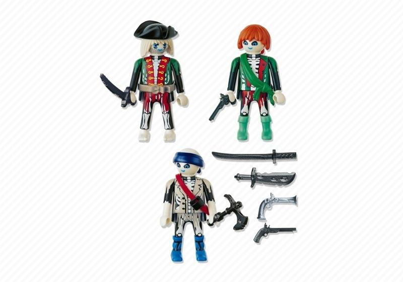 Playmobil 4800 - Ghost Pirates - Back