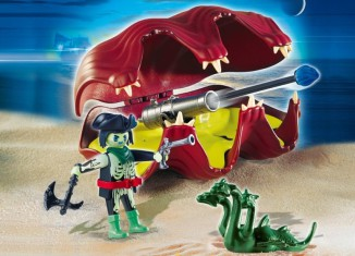 Playmobil - 4802 - Shell with Cannon