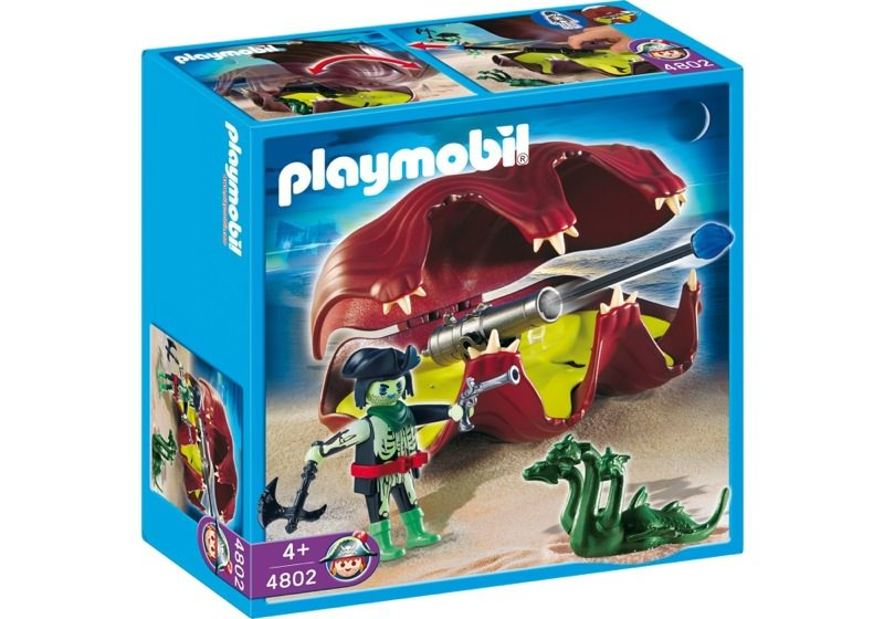 Playmobil 4802 - Shell with Cannon - Box