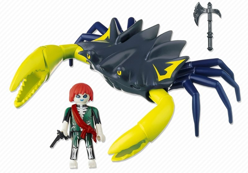 Playmobil 4804 - Giant Crab - Back