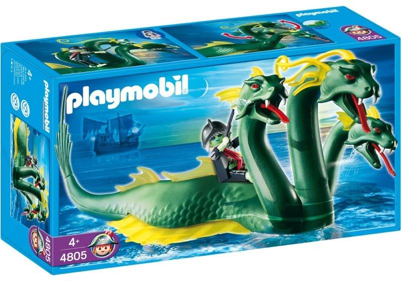 Playmobil 4805 - Three-Headed Sea Serpent - Box