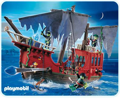 playmobil set 4806 ghost pirate ship klickypedia. Black Bedroom Furniture Sets. Home Design Ideas