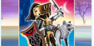 Playmobil - 4807 - Wolf Warrior with Sword