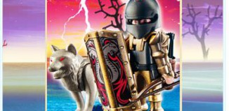 Playmobil - 4808 - Wolf Warrior with Bow