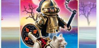 Playmobil - 4809 - Wolf Warrior with Morning Star