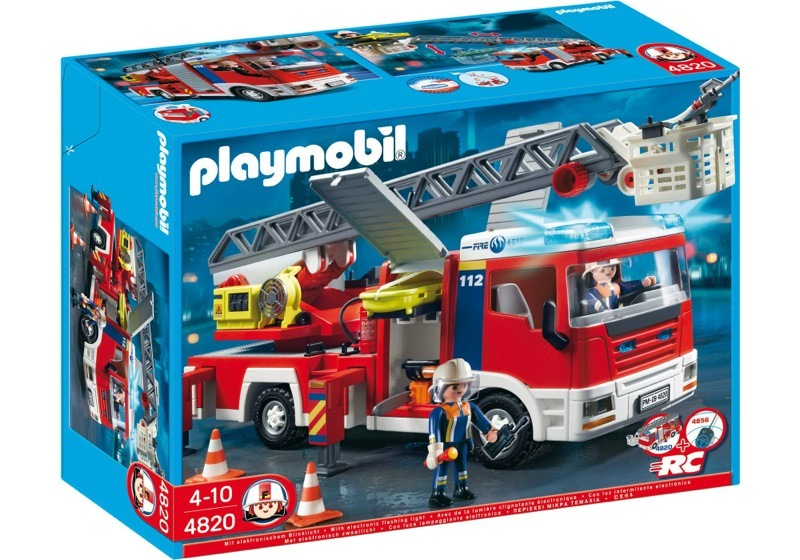 Playmobil 4820 - Ladder Unit - Box