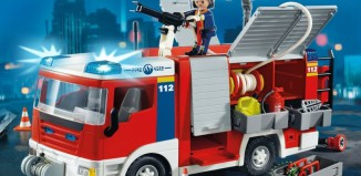 Playmobil - 4821v2 - Fire Engine