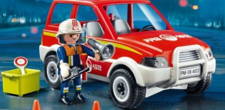 Playmobil - 4822 - Fire Chief and Car