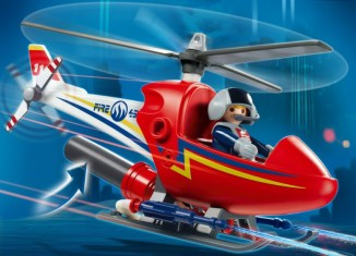 Playmobil - 4824 - Fire Fighting Helicopter