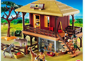 Playmobil - 4826 - Wild Life Care Station