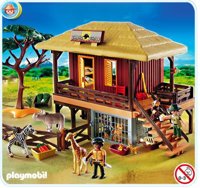 playmobil set 4826 wild life care station klickypedia. Black Bedroom Furniture Sets. Home Design Ideas