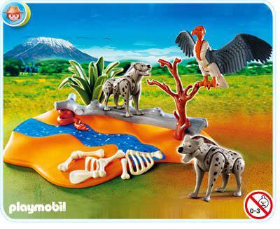 Playmobil set 4829 hyenas klickypedia - Playmobile savane ...