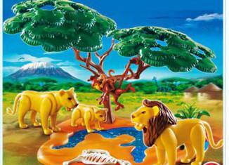 Playmobil - 4830 - Lion Pride with Monkeys