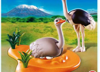 Playmobil - 4831 - Ostrich Family with Nest