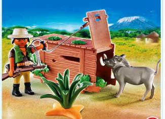 Playmobil - 4833 - Ranger with Warthog