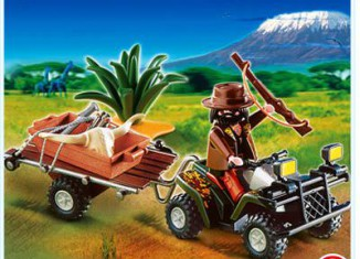 Playmobil - 4834 - Ranger with Quad Bike and Trailer