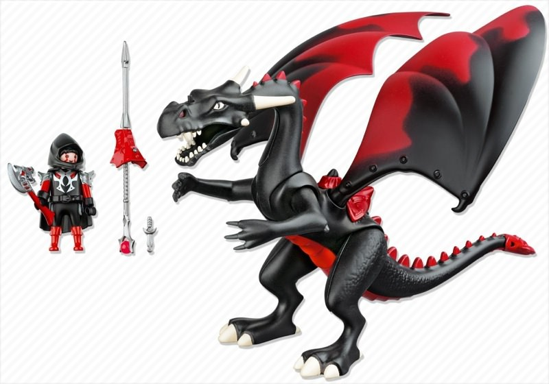 Playmobil 4838 - Giant Dragon with LED-Fire - Back