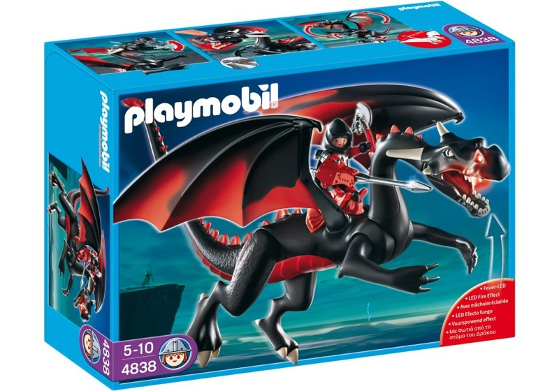 Playmobil 4838 - Giant Dragon with LED-Fire - Box