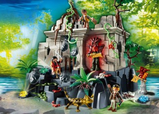 Playmobil - 4842 - Treasure Temple with Guards