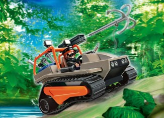 Playmobil - 4846 - Treasure Robber's Crawler
