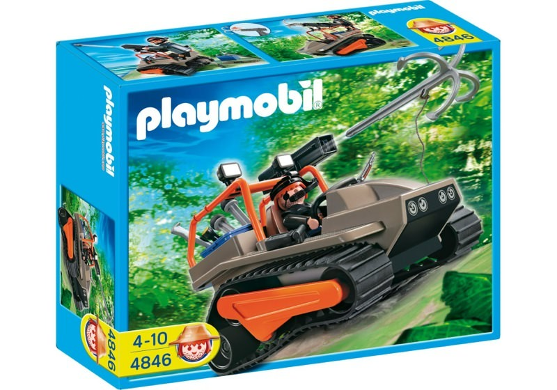 Playmobil 4846 - Treasure Robber's Crawler - Box