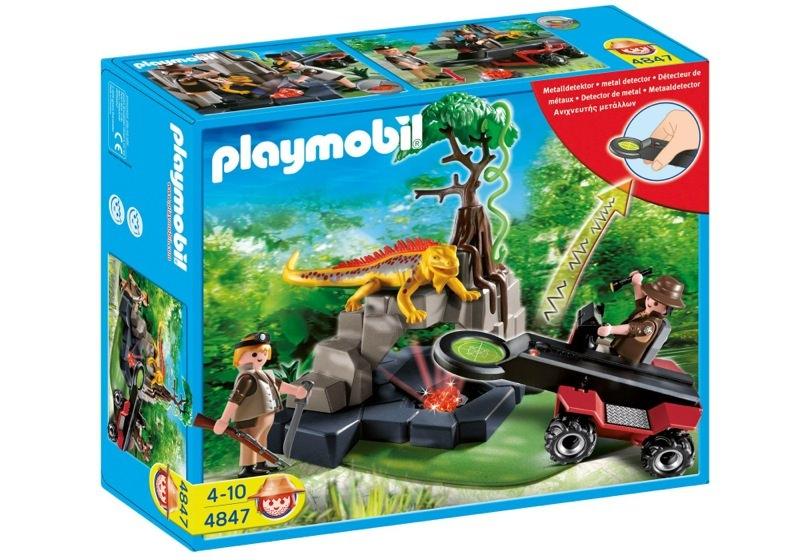 Playmobil 4847 - Treasure Hunter with Metal Detector - Box