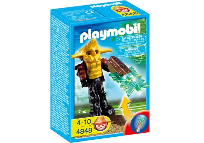Playmobil 4848 - Temple Guard with Green Light - Box