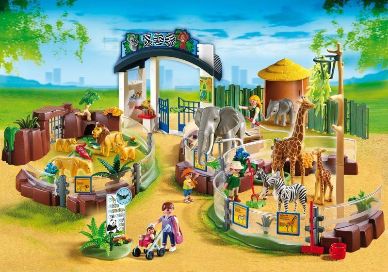 playmobil zoo set instructions