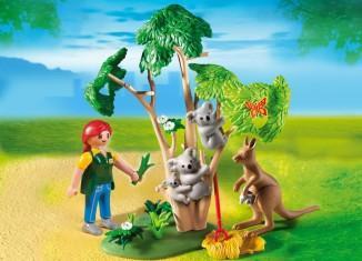 Playmobil - 4854 - Koala Bears with Kangaroo