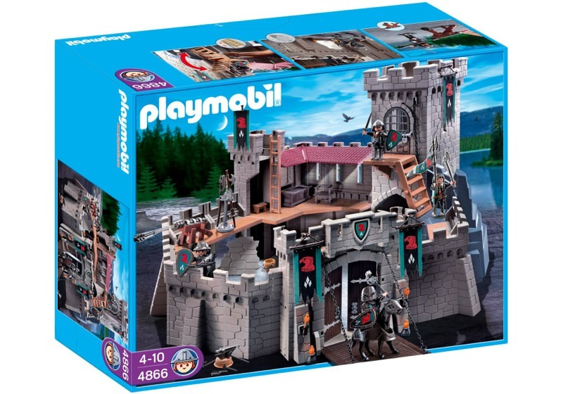 Playmobil 4866 - Falcon Knight's Castle - Box
