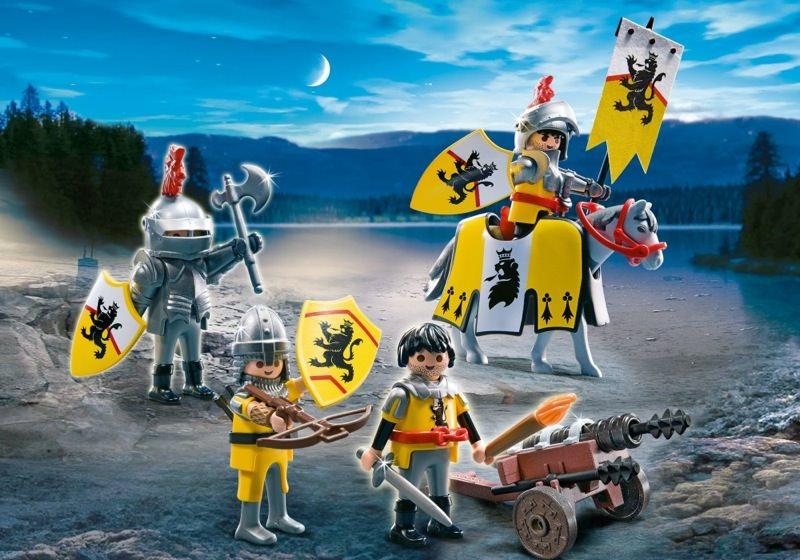 PLAYMOBIL Lion Knights Troop