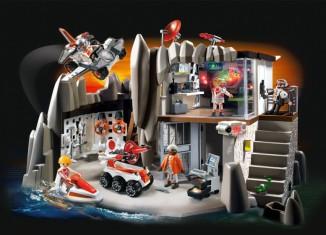 Playmobil - 4875 - Secret Agent Headquarters with Alarm System