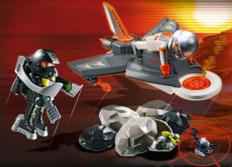 Playmobil - 4877 - Jet de détection des Agents Secrets