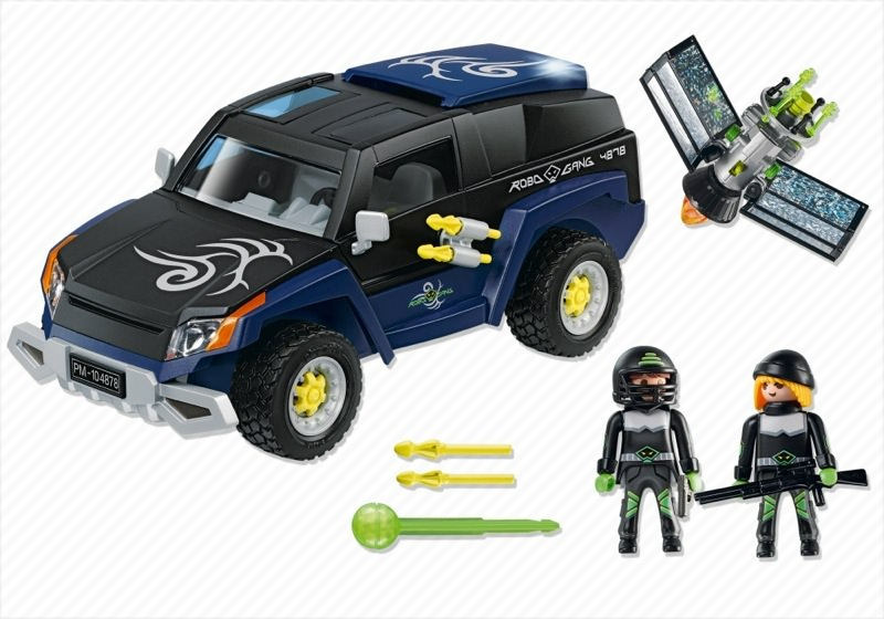 Playmobil 4878 - Robo Gang Truck - Back