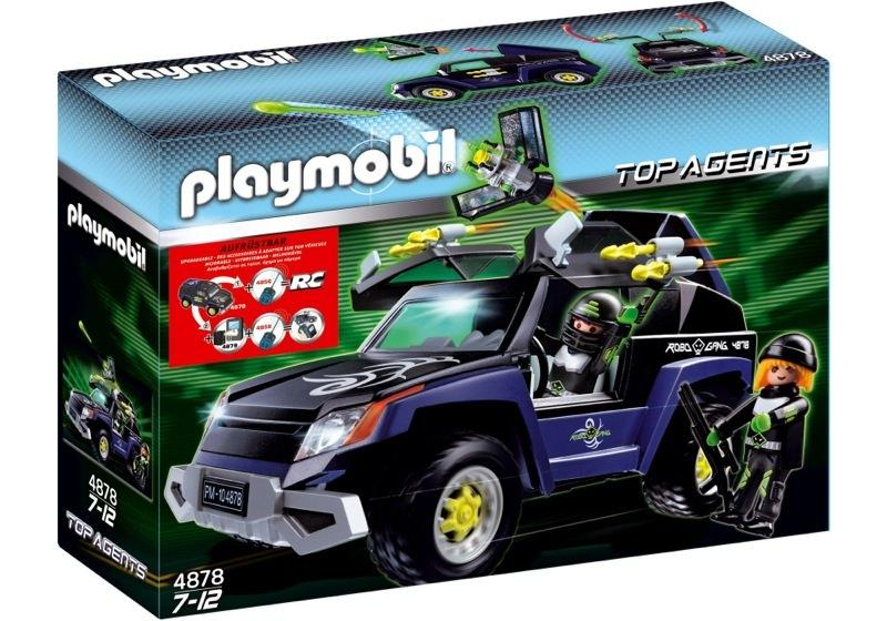 Playmobil 4878 - Robo Gang Truck - Box