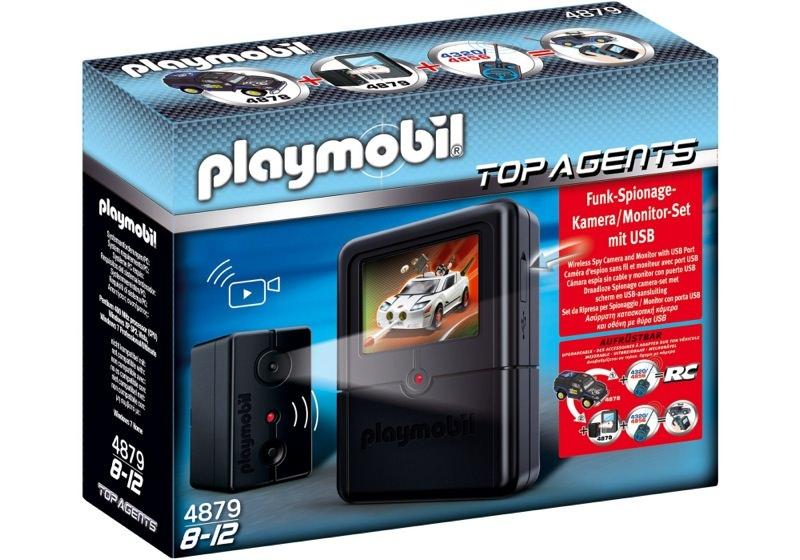 Playmobil 4879 - Spy Camera Set - Box